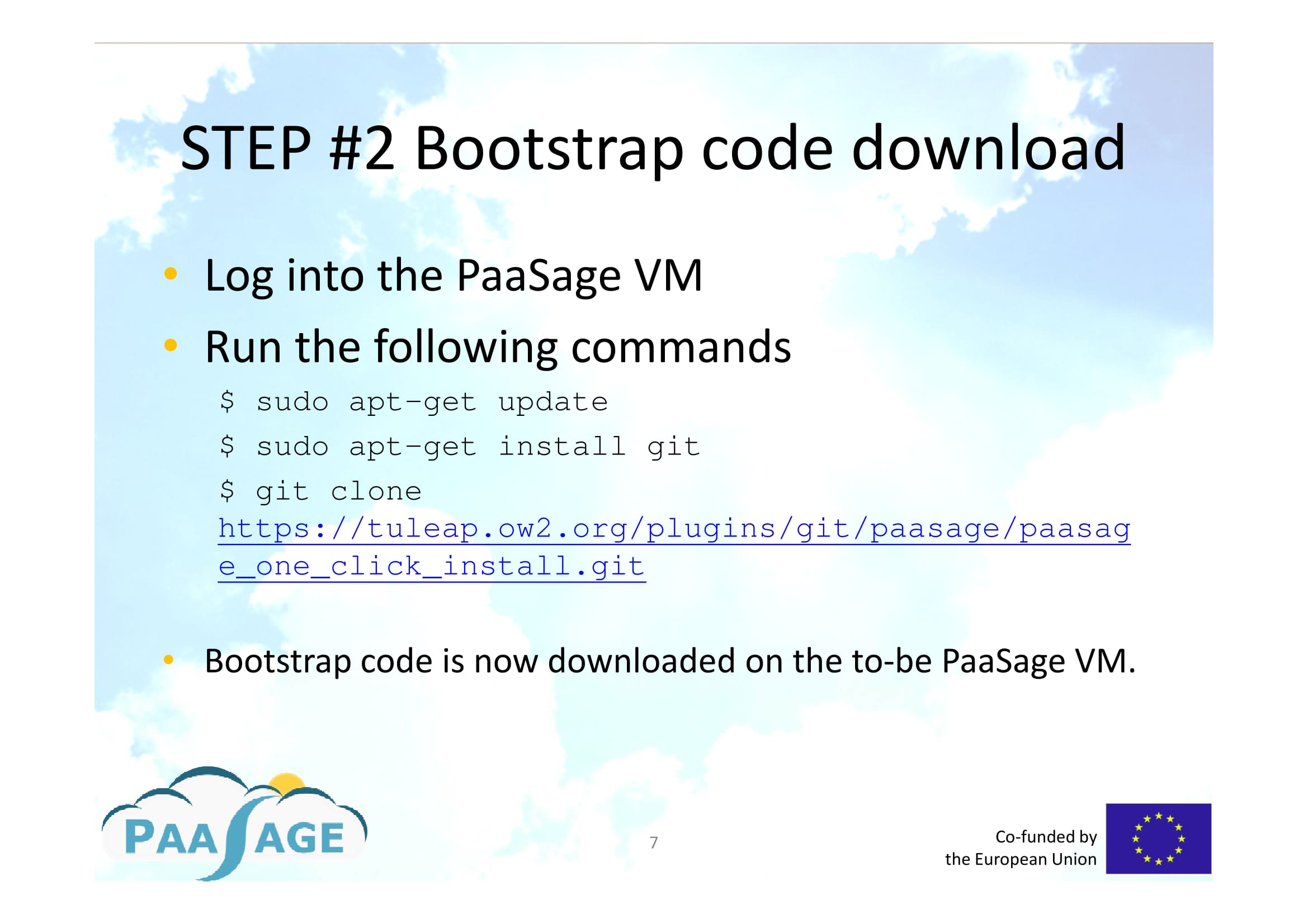 PaaSage - Downloading, installing and configuring PaaSage